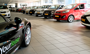 yourlease showroom private lease auto's