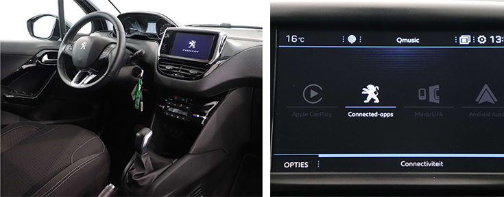 Peugeot 208 allure private lease techniek
