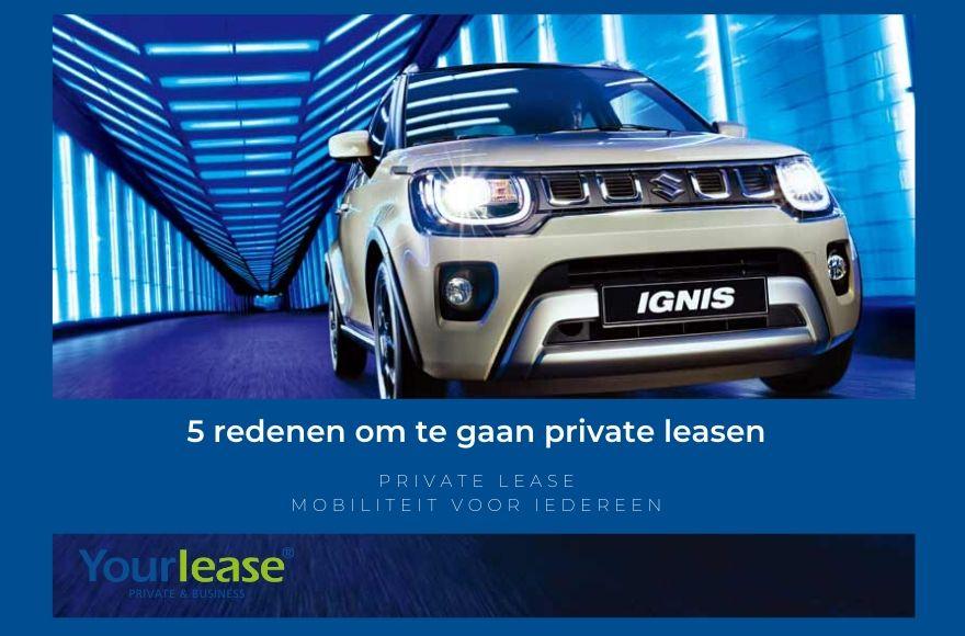 5 redenen om te private leasen