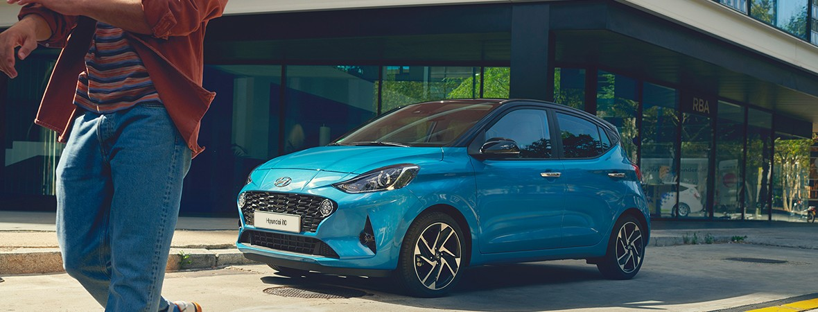 Hyundai i10 automaat private lease
