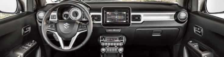 Suzuki Ignis interieur private lease