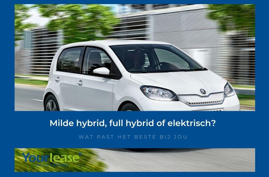 Hybrid lease elektrisch lease