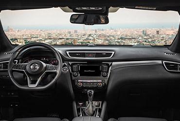 Nissan Qashqai 1.3 interieur