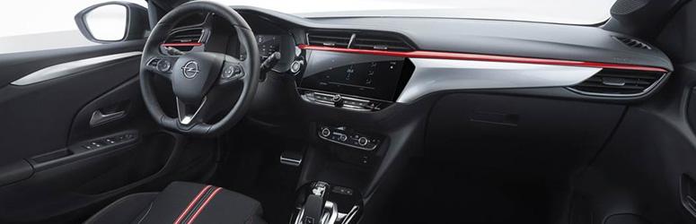 Opel Corsa private lease interieur