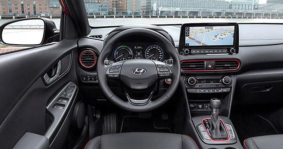 Hyundai KONA hybrid nav
