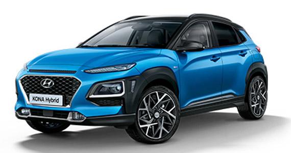 Hyundai KONA hybrid vk