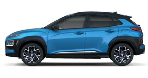 Hyundai KONA hybrid zk