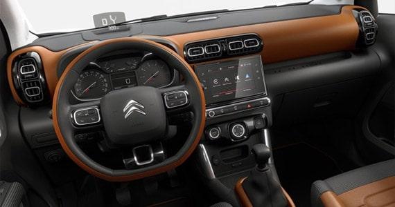 Citroen C3 Aircross dashboard