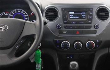 Hyundai i10 Dashboard