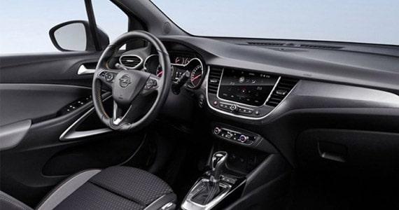 Opel crossland X dashboard