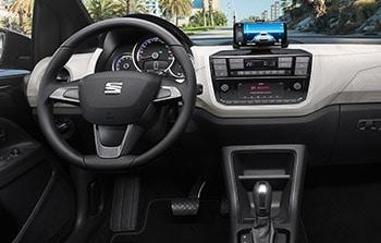 Seat mii electric dashboard private lease
