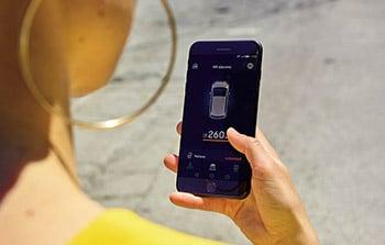 Seat mii electric smarthphone private lease