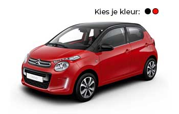 Private lease Citroen c1 Feel Yourlease