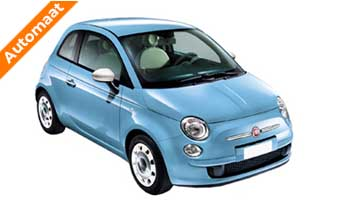 Private lease Fiat 500 TwinAir Turbo Lounge Automaat Yourlease