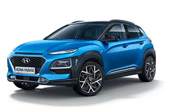 Private lease Hyundai KONA Hybrid Comfort Yourlease