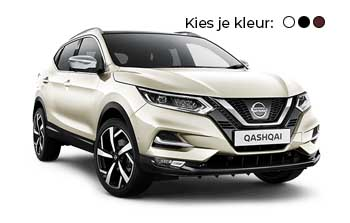 Private lease Nissan Qashqai 1.3 DIG T 160 PK Yourlease