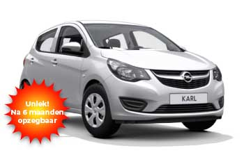 Private lease Opel KARL Yourleasekopie 1