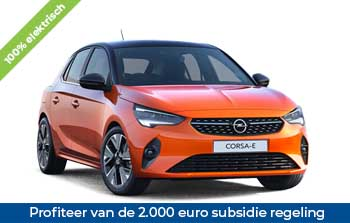 Private lease Opel e Corsa Yourlease