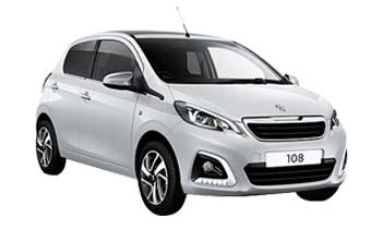 Private lease Peugeot 108 1.0 VTi Active Yourleasekopie