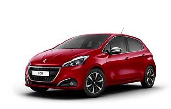 Private lease Peugeot 208 Allure PureTech Yourlease