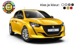 Private lease Peugeot 208 Yourlease