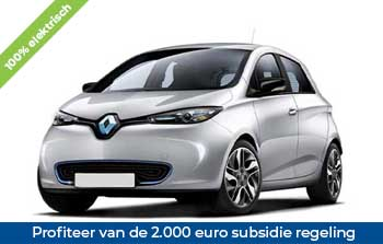 Private lease Renault Zoe Yourlease