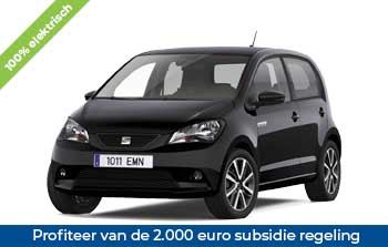 Private lease Seat mii electric Yourlease