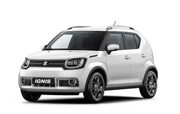 Private lease Suzuki Ignis 1.2 select hybrid Yourlease