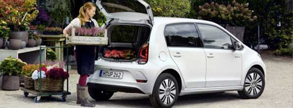 Volkswagen up laadruimte private lease
