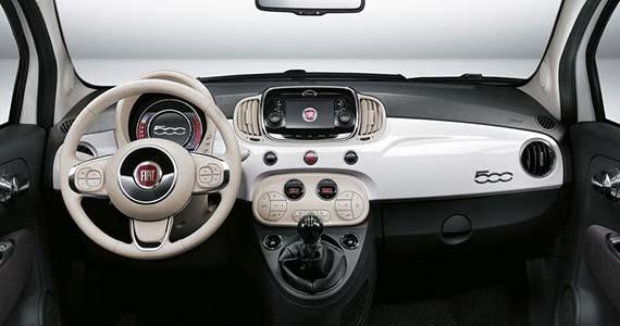 FIAT 500 Hybrid applecarplay