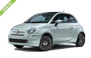Fiat 500 Hybrid private lease