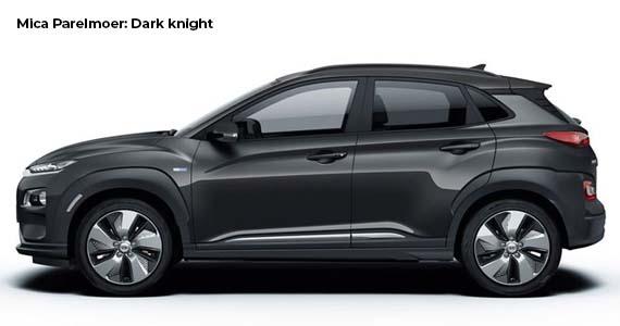 Hyundai Kona electric dark knight zk