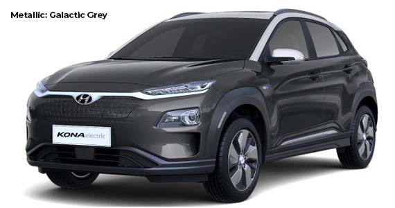 Hyundai Kona galactic grey electric vk