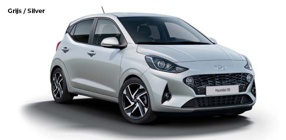 Hyundai i10 Licht grijs