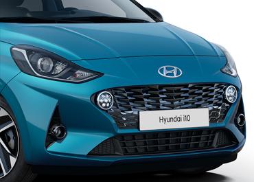 Hyundai i10 koplampen