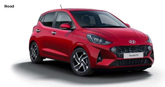 Hyundai i10 rood