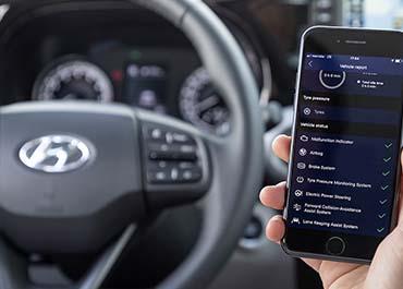Hyundai i10 smartphone connect