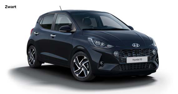Hyundai i10 zwart