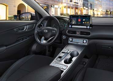 Hyundai kona electric interieur
