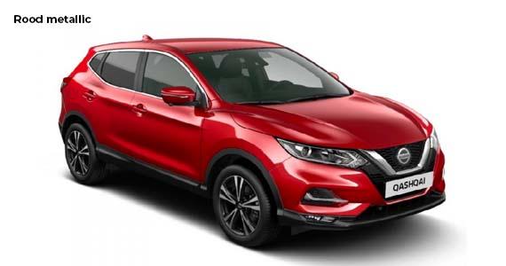 Nissan Qashqai 1.3 DIG T N Tec rood vk