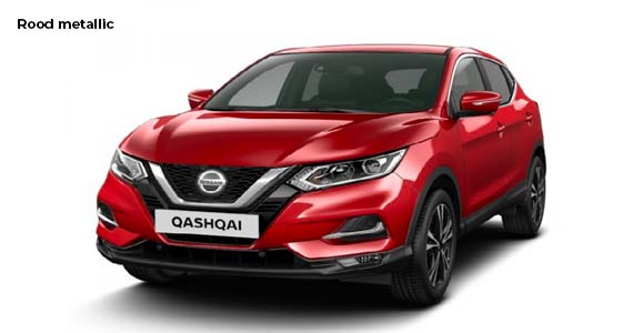 Nissan Qashqai 1.3 DIG T N Tec rood zk