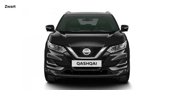 Nissan Qashqai 1.3 DIG T N Tec zwart vk