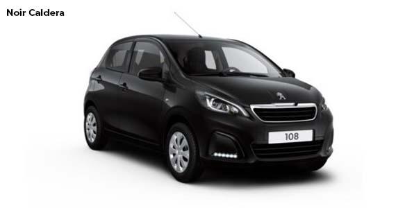 Peugeot 108 Noir caldera private lease vk