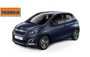 Peugeot 108 goedkoop private leasen