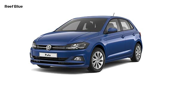 Volkswagen Polo 1.0 Edition Reef Blue