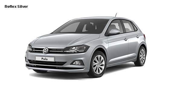 Volkswagen Polo 1.0 Edition Reflex silver