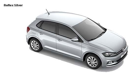 Volkswagen Polo 1.0 Edition Reflex silver bz