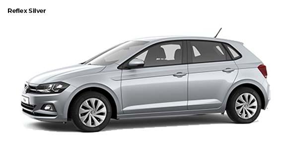 Volkswagen Polo 1.0 Edition Reflex silver z