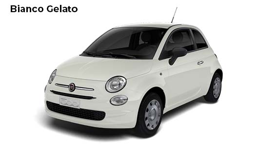 Fiat 500 1.0 pop Hybrid Bianco Gelato