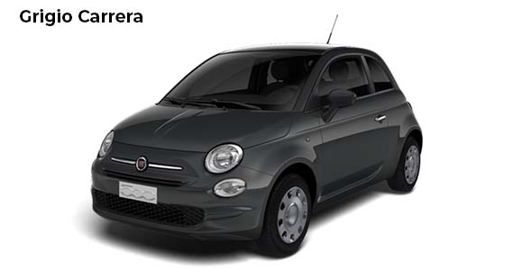 Fiat 500 1.0 pop Hybrid Grigio Carrera